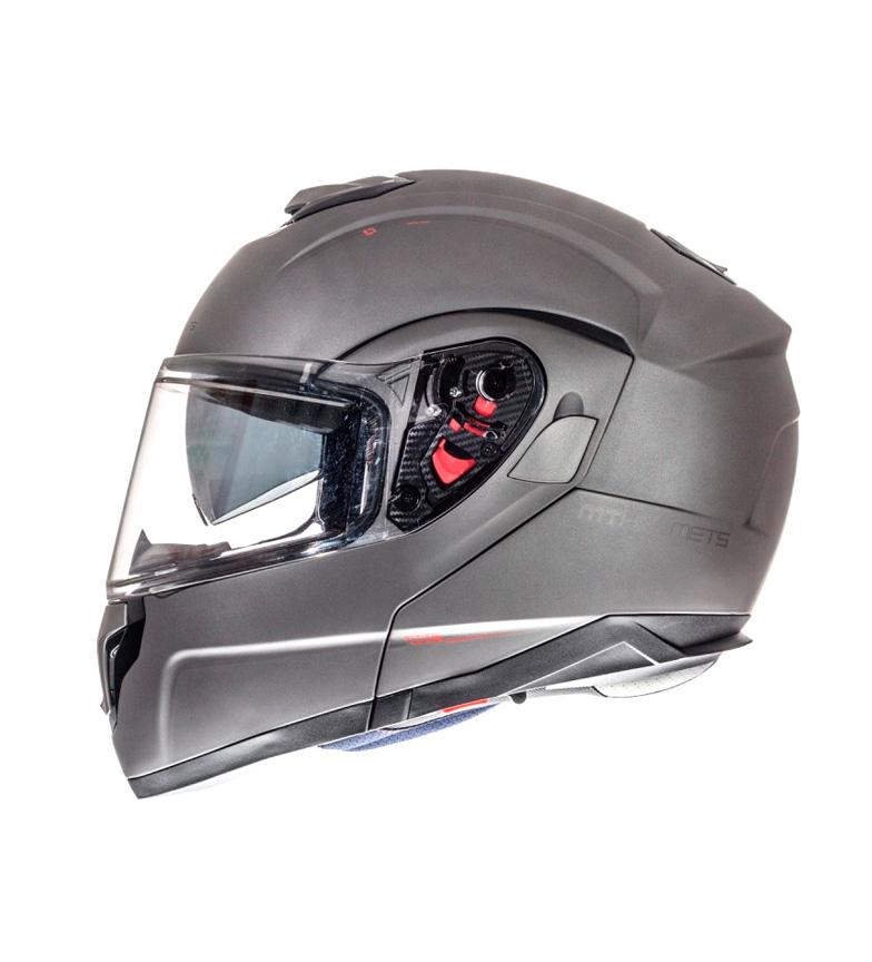 Comprar MT Helmets Casco modular MT Atom titanio