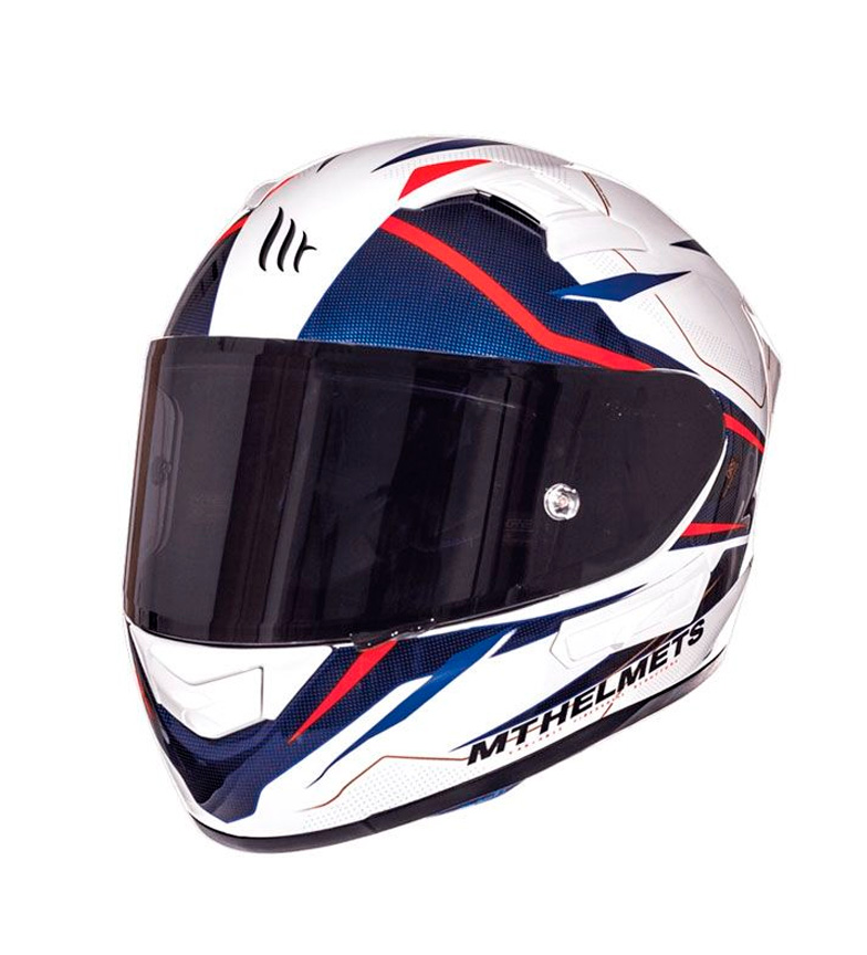 Comprar MT Helmets Integral helmet MT KRE SV Intrepid B2 red fluor pearl