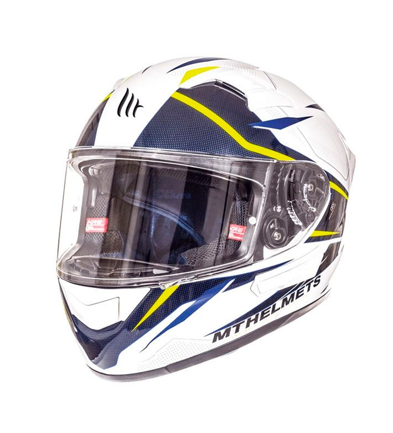 Comprar MT Helmets Integral helmet MT KRE SV Intrepid B3 yellow fluor pearl