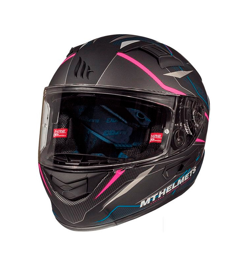 Comprar MT Helmets Casco integral MT KRE SV Intrepid C2 rosa fluor mate