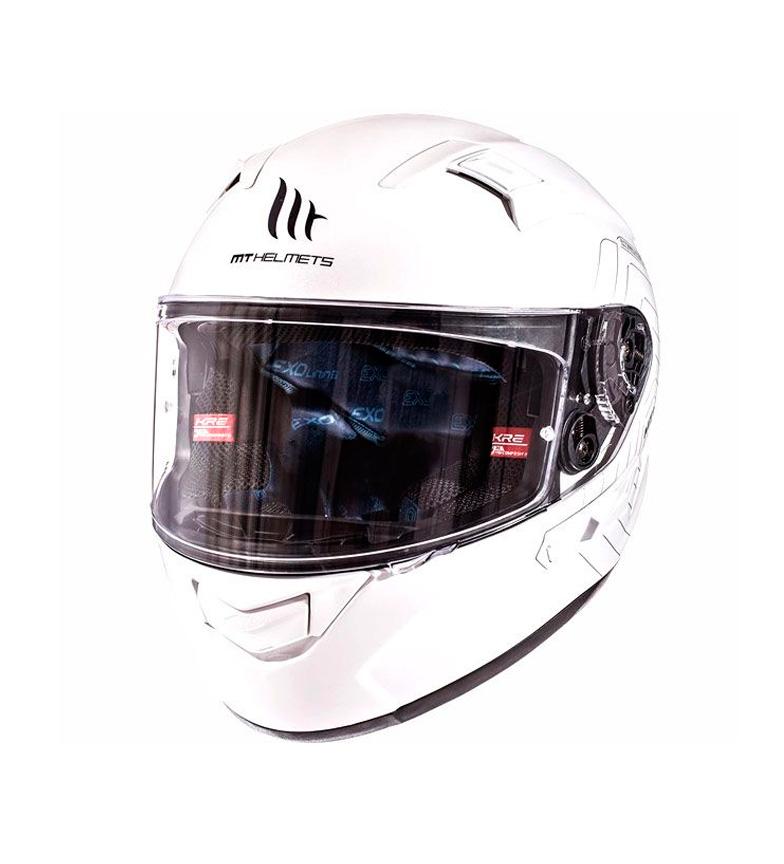 Comprar MT Helmets Capacete MT Kre SV Sólido branco