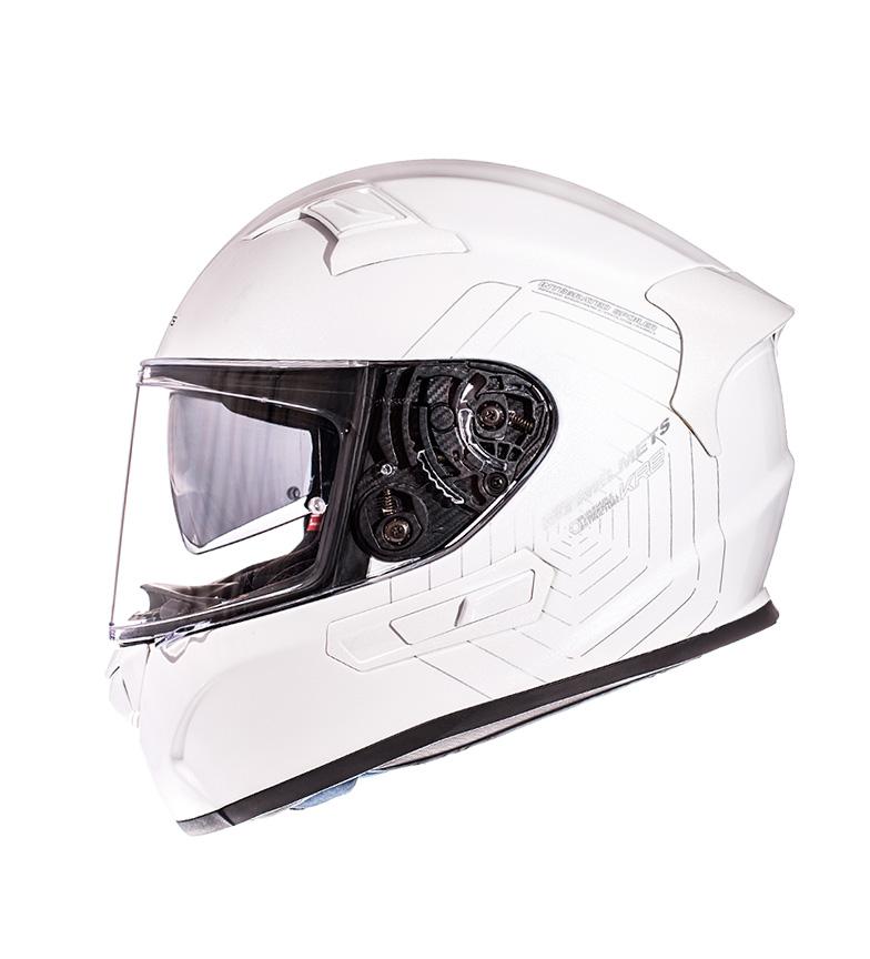 Comprar MT Helmets Casque intégral MT KRE SV Solid white pearl