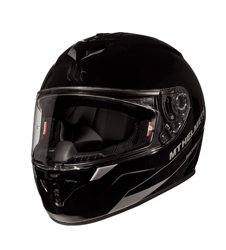 Comprar MT Helmets Capacete completo MT Rapide Sólido A1 preto gloss