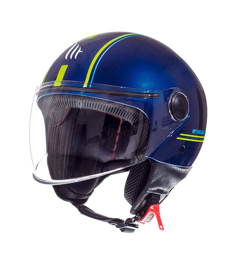 Comprar MT Helmets Capacete jet MT Street Entire J2 azul, amarelo