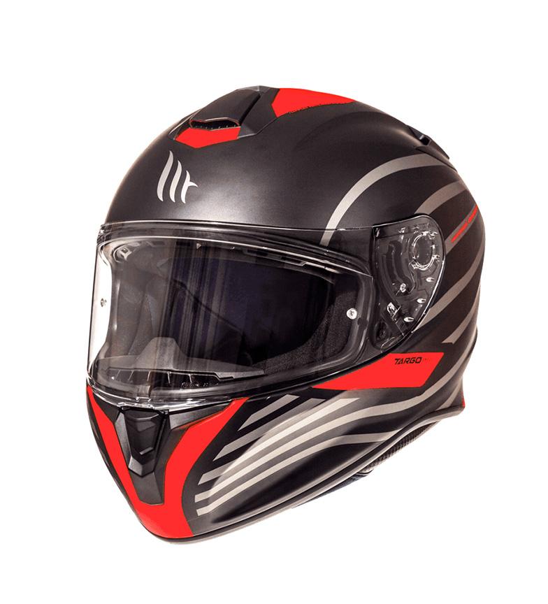 Comprar MT Helmets Casco integral MT Targo Doppler A0 rojo fluor mate