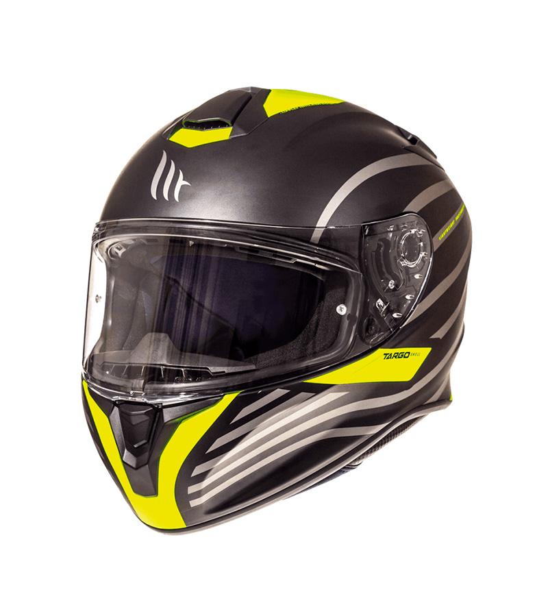 Comprar MT Helmets Full helmet MT Targo Doppler A1 yellow fluor matt