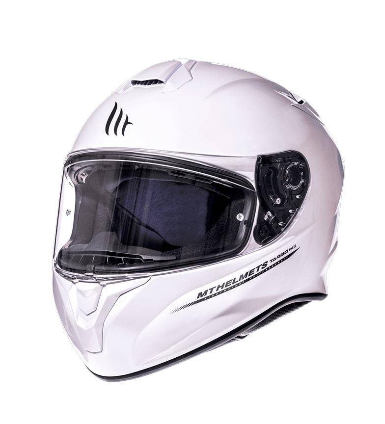 Comprar MT Helmets Casco integrale MT Targo Solid A0 bianco lucido perlato