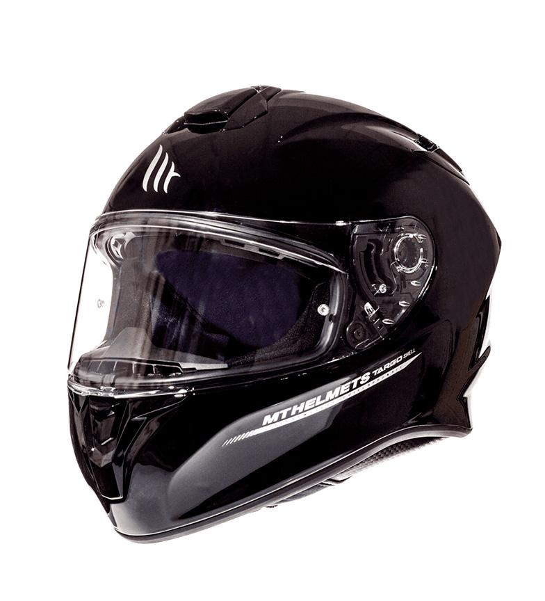 Comprar MT Helmets Casco integral MT Targo Solid A1 negro brillo