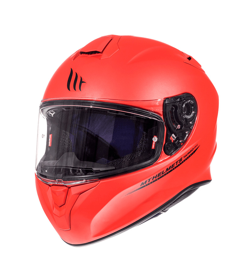 Comprar MT Helmets Capacete completo MT Targo Solid A5 fosco vermelho