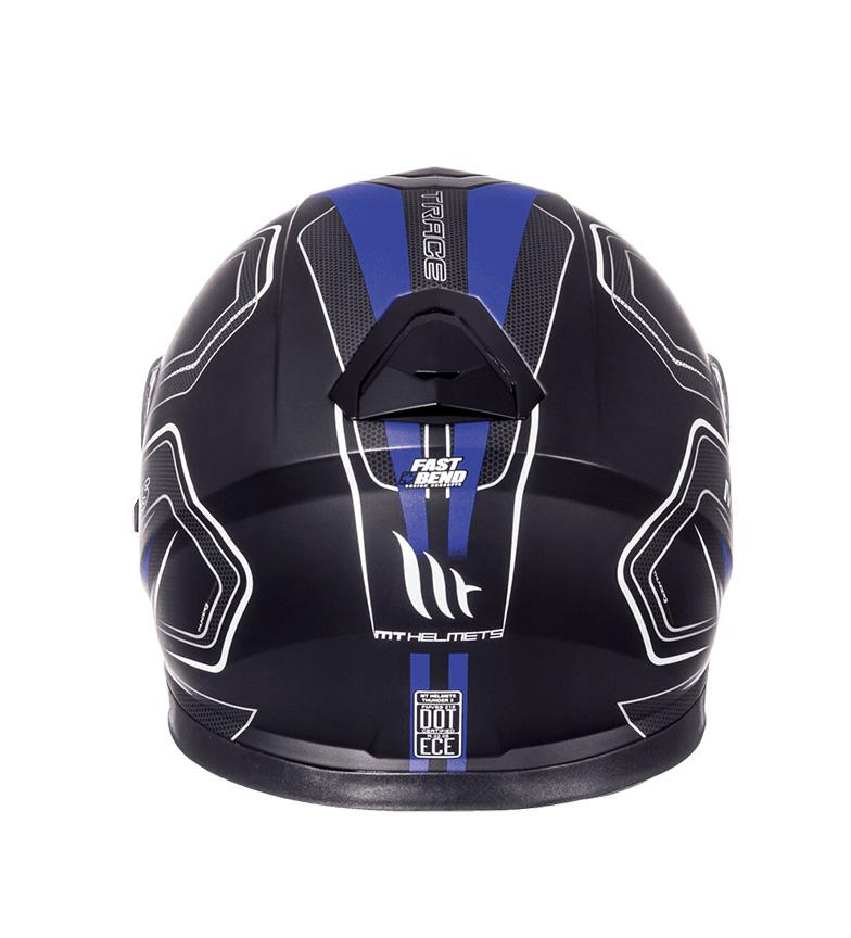 0deeffeb Comprar MT Helmets Casco integral MT Thunder 3 SV Trace negro, azul ...