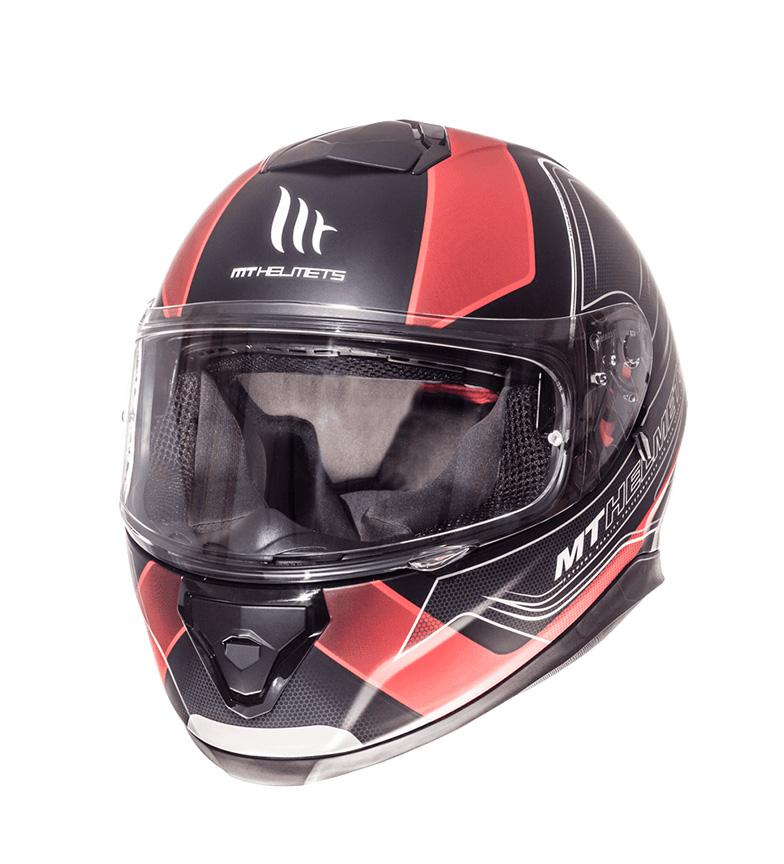 Comprar MT Helmets Casco integrale MT Thunder 3 SV Trace nero, rosso opaco