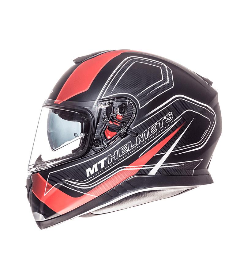 7c8a5d90 Comprar MT Helmets Casco integral MT Thunder 3 SV Trace negro, rojo ...