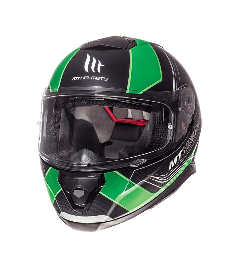 Comprar MT Helmets Capacete integral MT Thunder 3 SV Traço preto, fluor fluor green