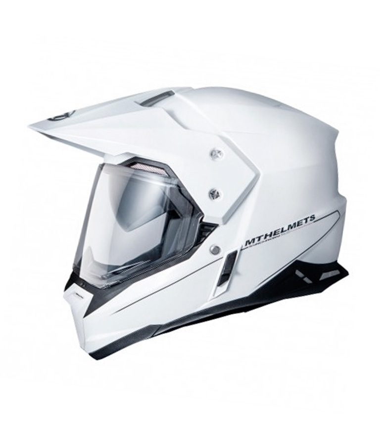 Comprar MT Helmets Casco off road MT Synchrony Duo Sport Bianco solido