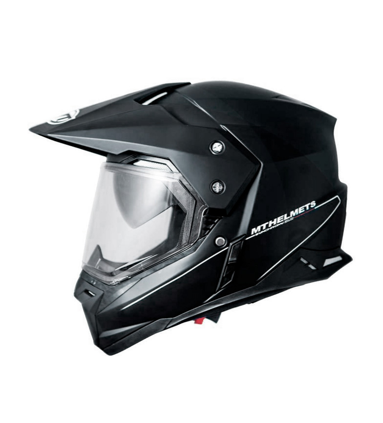 Comprar MT Helmets Capacete fora da estrada MT Synchrony Duo Sport Solid black