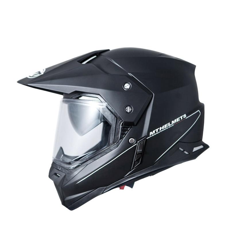 Comprar MT Helmets Capacete fora da estrada MT Synchrony Duo Sport Sólido preto mate