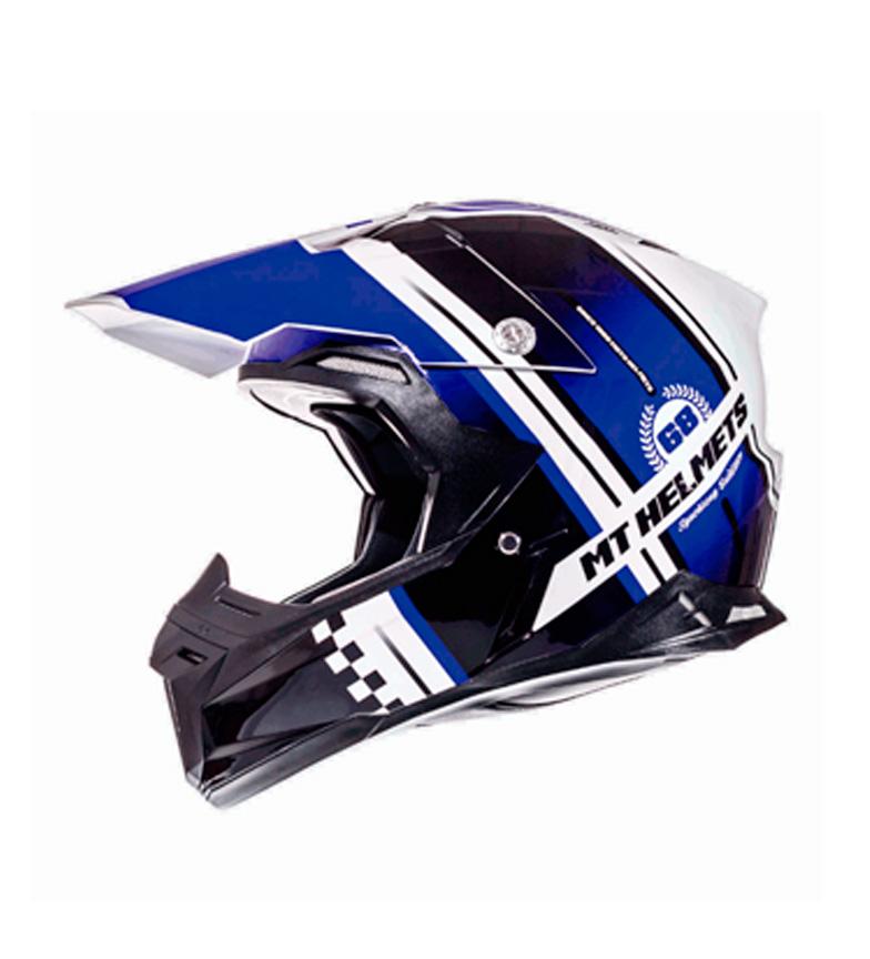 Comprar MT Helmets Casco off road MT Synchrony Endurance blanco perla, negro