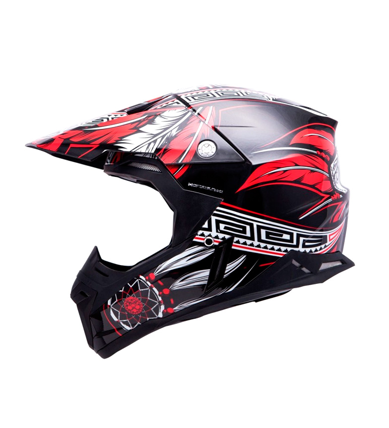 Comprar MT Helmets Casco off road MT Synchrony Native negro, rojo, blanco