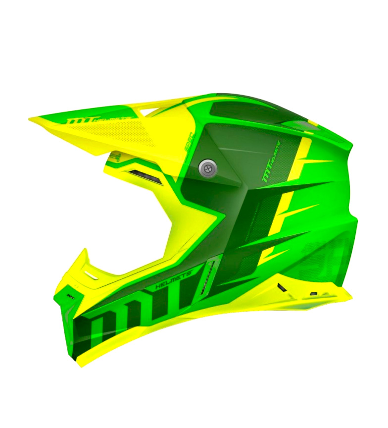 Comprar MT Helmets Casco off road MT Synchrony Spec verde, amarillo
