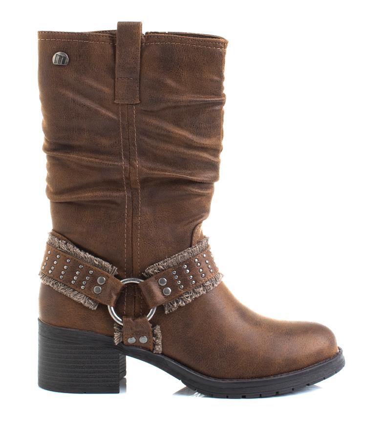 Comprar Mustang 58565 leather boots -heel height: 5,5cm