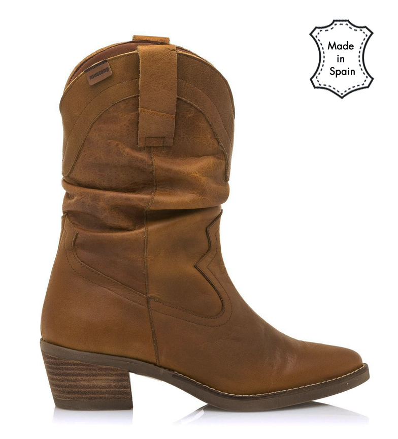 Comprar Mustang Leather boots Cow leather -Heel height: 5cm
