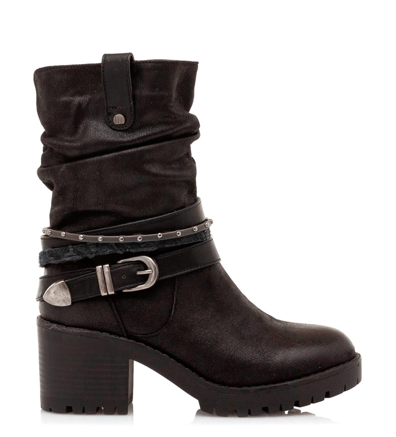 Comprar Mustang Glass Boots black -Heel height: 6.5cm