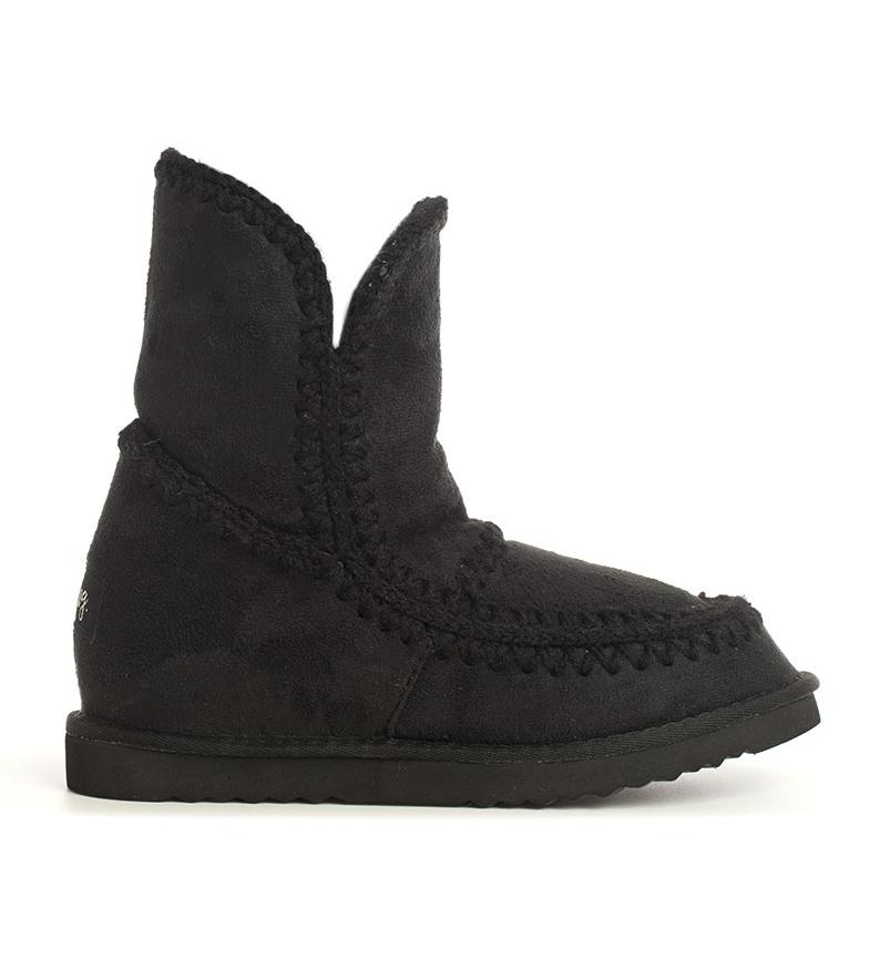 Comprar Mustang Black Muuk boots-Interior wedge height: 6cm-
