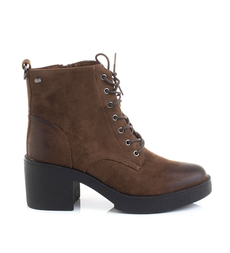 Comprar Mustang Ankle boots 50495 brown -Heel height: 5 cm