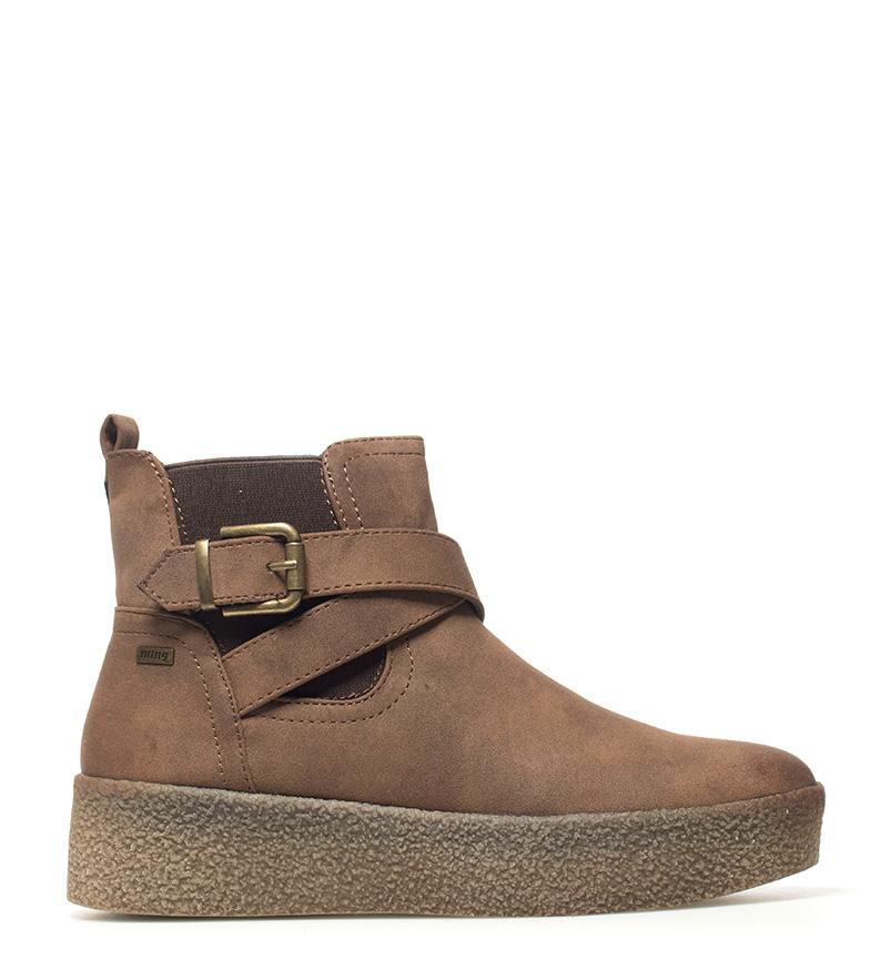 Comprar Mustang Frozen brown ankle boots - Platform height: 5cm-