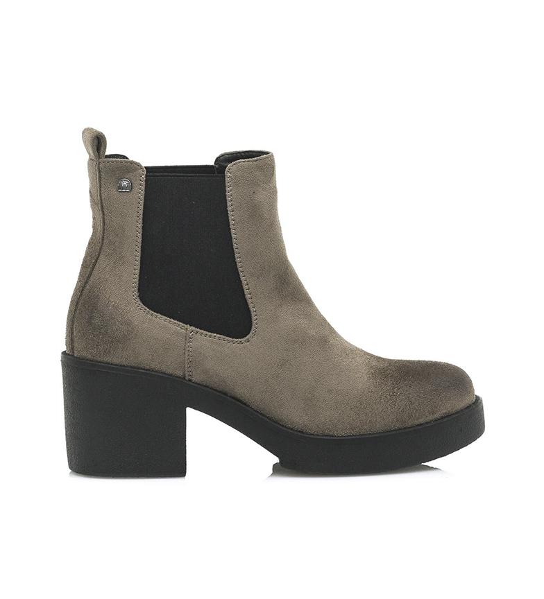 Comprar Mustang Eris taupe botas de tornozelo - Altura do calcanhar: 5cm