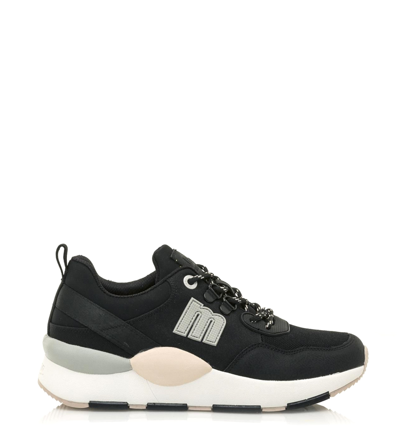 Comprar Mustang Maxi shoes black -Sole height: 4cm