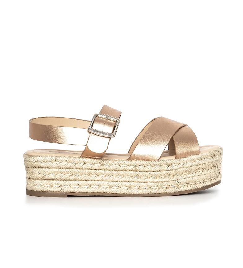 Comprar Mustang Vanadium sandals pink gold -High platform: 5cm