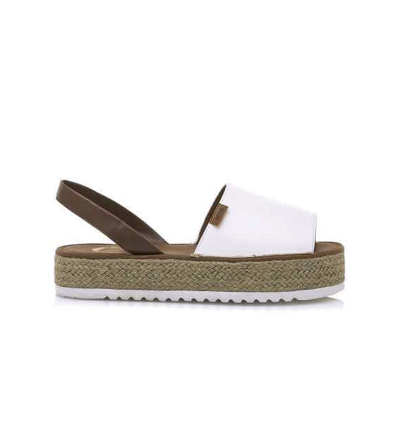 Comprar Mustang White Baltea sandals -Platform height: 3,5cm