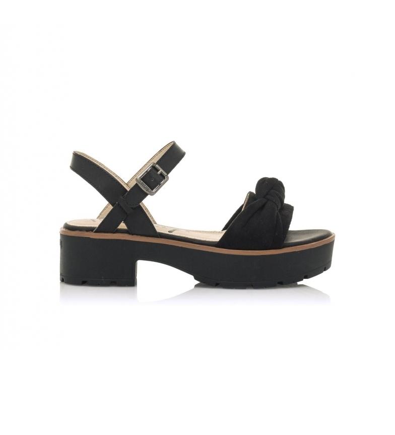 Comprar MTNG Sandales Cury noir -Hauteur du plateau : 5 cm
