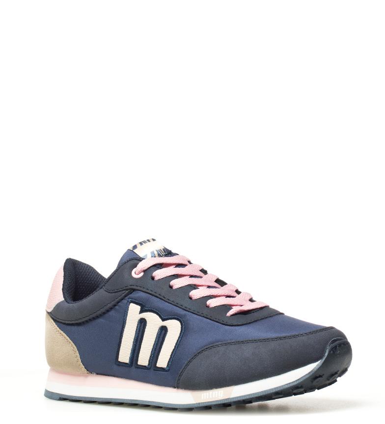 Mustang-Baskets-Funner-Femme-Tissu-Synthetique-Plat-Lacets-Casuel-Multicolore miniature 21