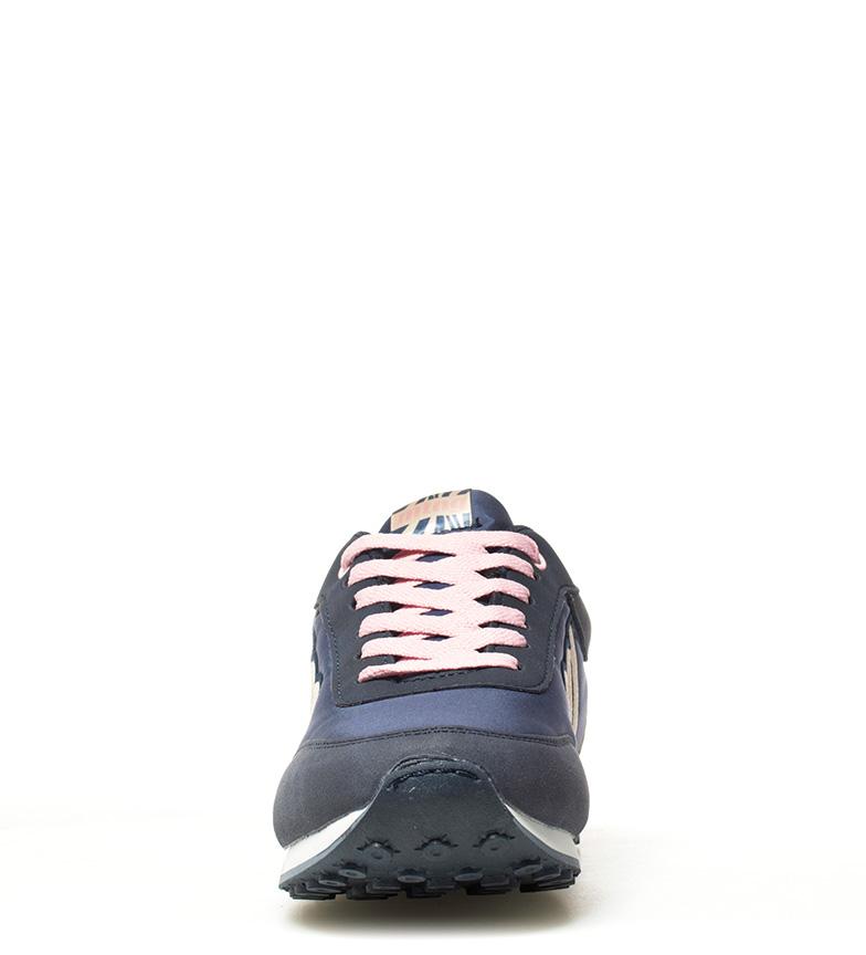 Mustang-Baskets-Funner-Femme-Tissu-Synthetique-Plat-Lacets-Casuel-Multicolore miniature 22