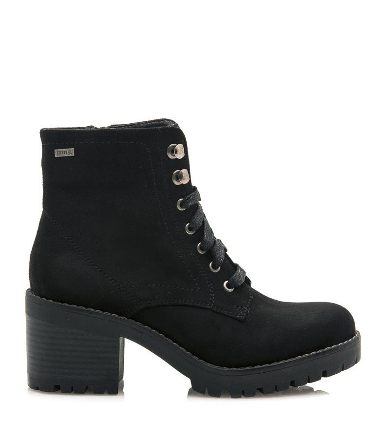 Comprar Mustang Elektra black boots -heel height: 6.8cm