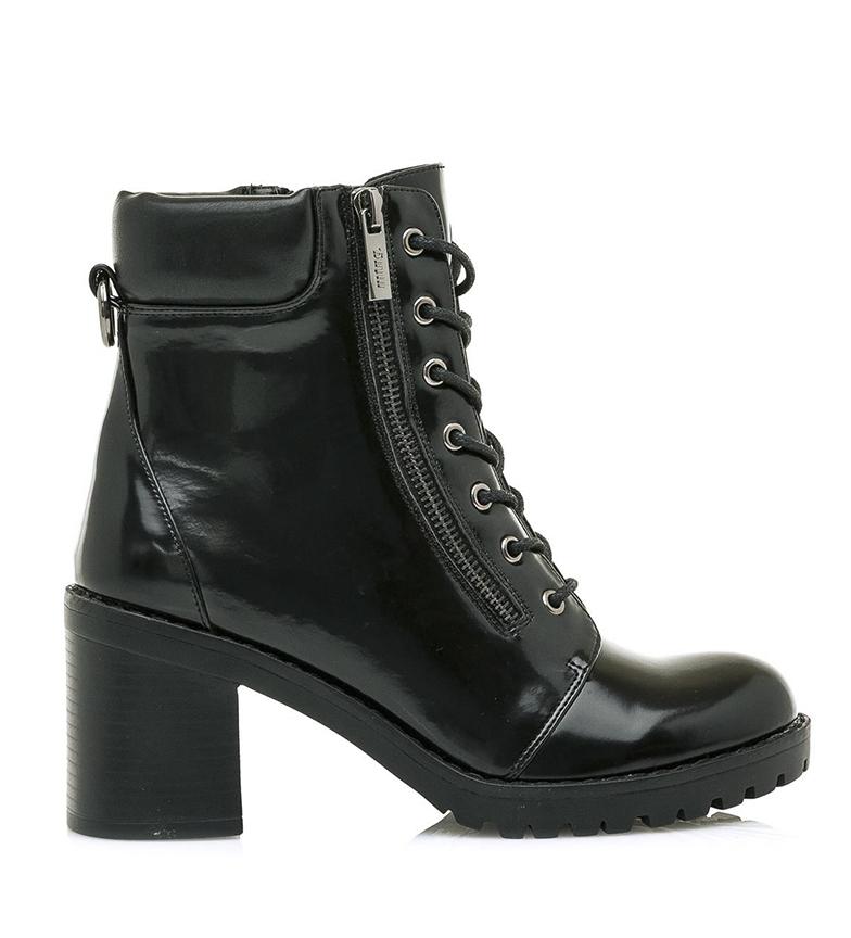 Comprar Mustang Botas de tornozelo Maya Preta - Altura do calcanhar: 7,5cm