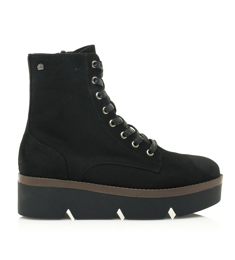 Mustang Lare black ankle boots - platform height: 4.8cm