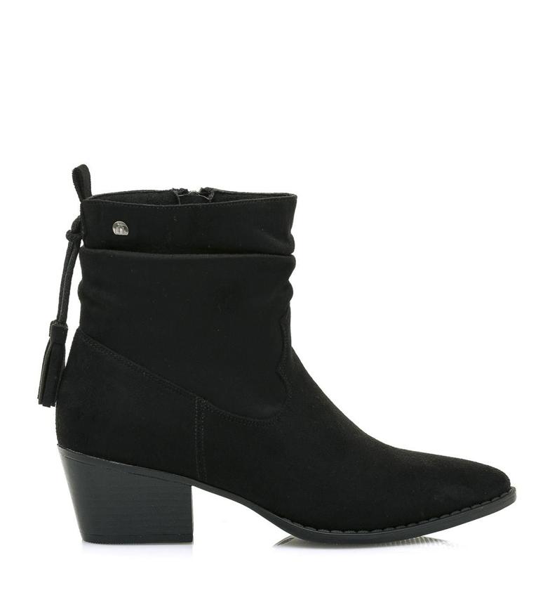 Comprar Mustang Ankle boots 58618 black -Heel height: 5 cm