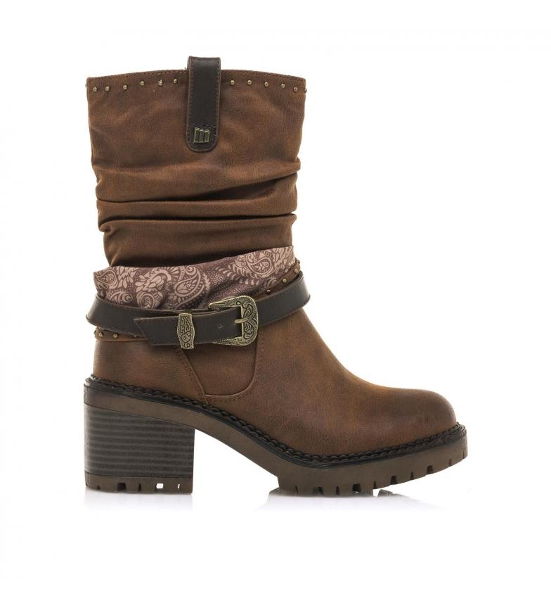 Comprar MTNG Stivaletti Glami marroni -Altezza tacco: 7 cm-