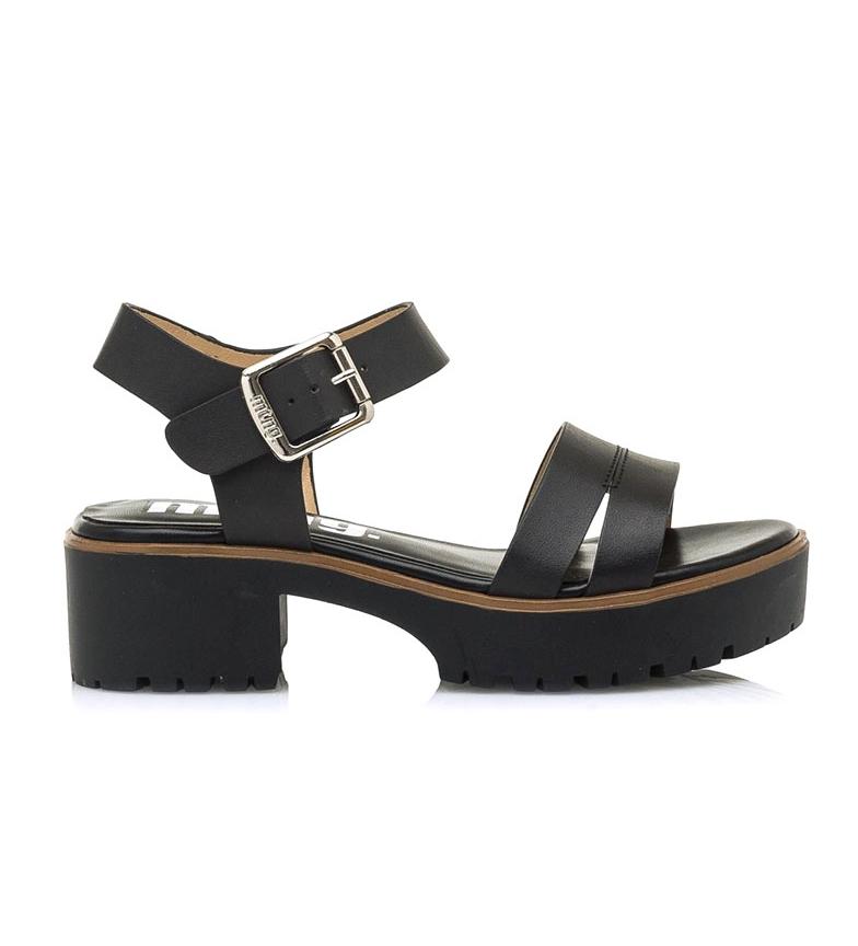 Comprar MTNG Black Plexy sandals -Heel height: 6cm