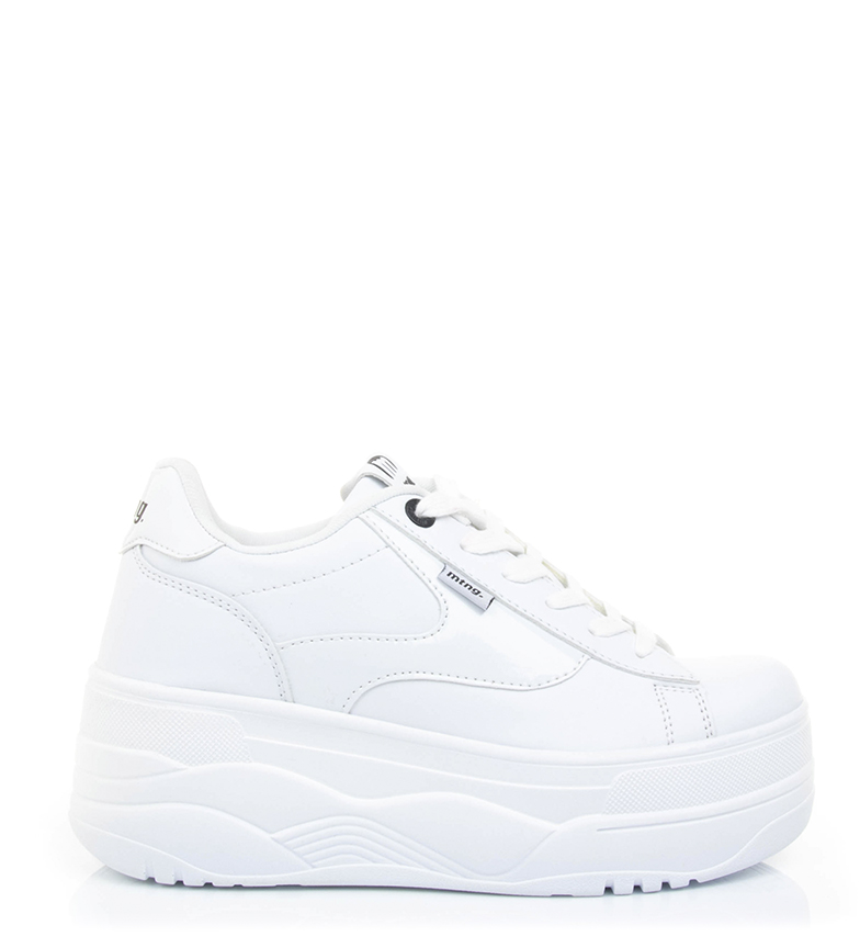 Comprar Mustang Top shoes white - Platform height: 6 cm