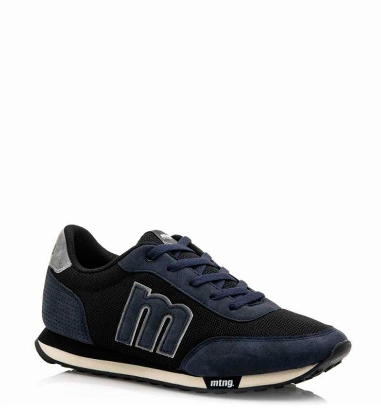 Mustang-Zapatillas-Funner-Hombre-chico-Negro-Azul-Granate-Tela-Sintetico