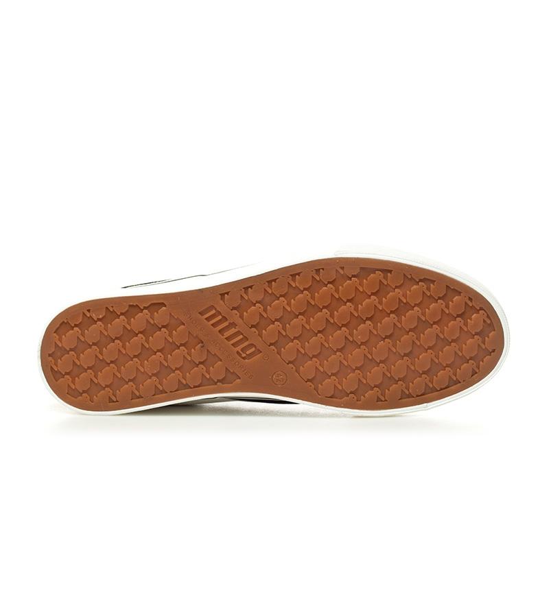 Mustang-Baskets-Burton-Homme-Tissu-Synthetique-Plat-Lacets-Casuel-Grenat-Vert miniature 25