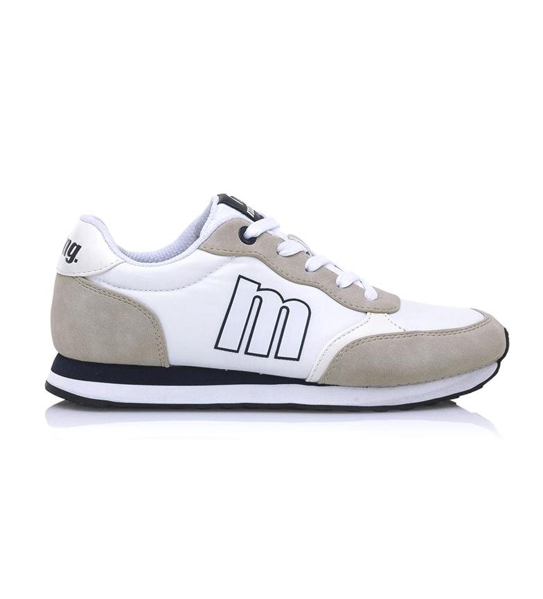 Comprar Mustang Des chaussures de jogging blanches cassées