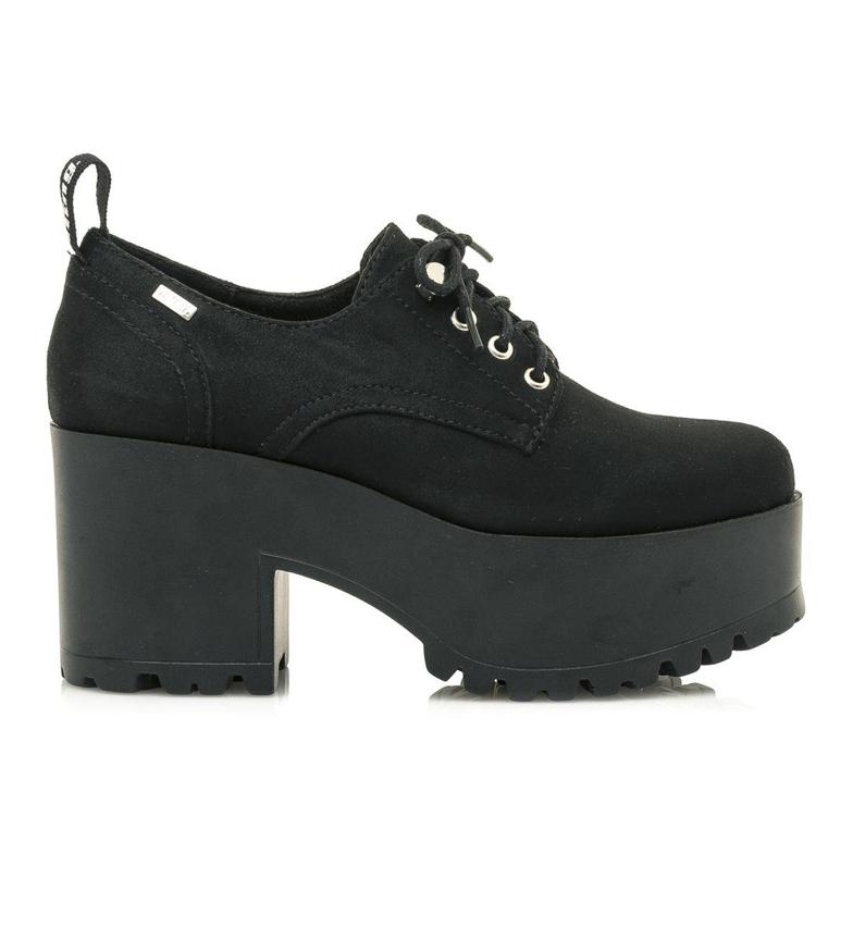 Comprar Mustang Zapatons Azahar negro -altura tacón: 8cm-