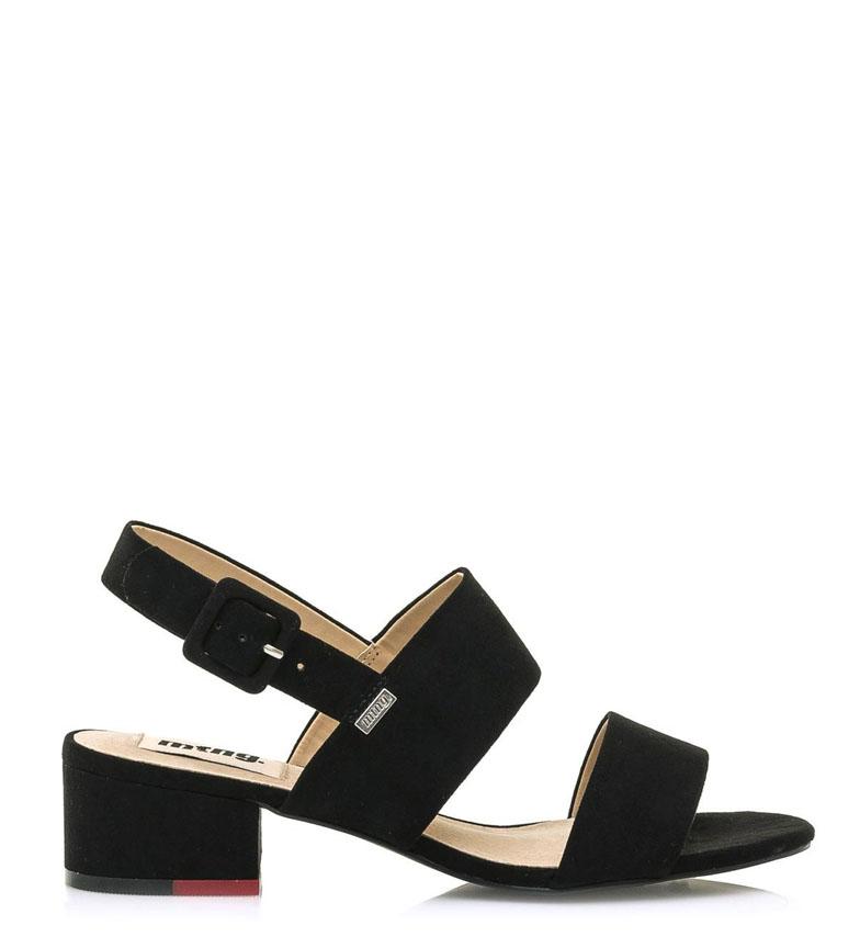 Comprar Mustang Bico black sandals -heel height: 4,5cm