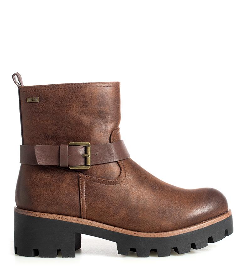 Comprar Mustang Alena brown boots -heel height: 5cm-