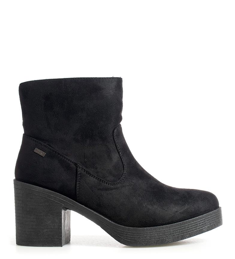 Comprar Mustang Ariel boots black -heel height: 7.5cm-